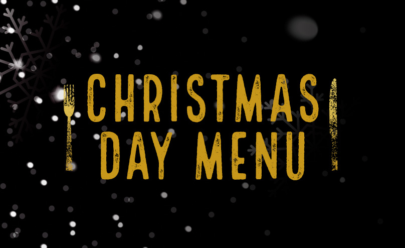 Christmas Day Menu at The Green Dragon