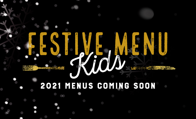 Festive Kids Menu at The Green Dragon