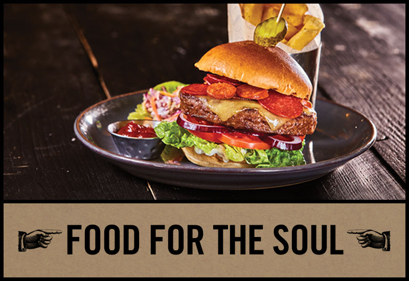 Food for the soul at The Green Dragon
